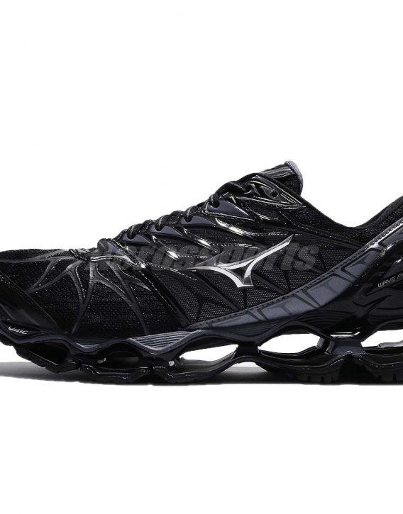 Mizuno Wave Prophecy 7 VII Black Blue Grey Men Running Shoes Sneaker 2 568x725 - Tenis Mizuno Wave Prophecy 7 Masculino