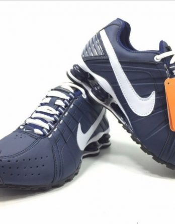 Tênis Nike Shox Júnior 4 Molas Masculino Promoção Imperdível2 348x445 - TÊNIS