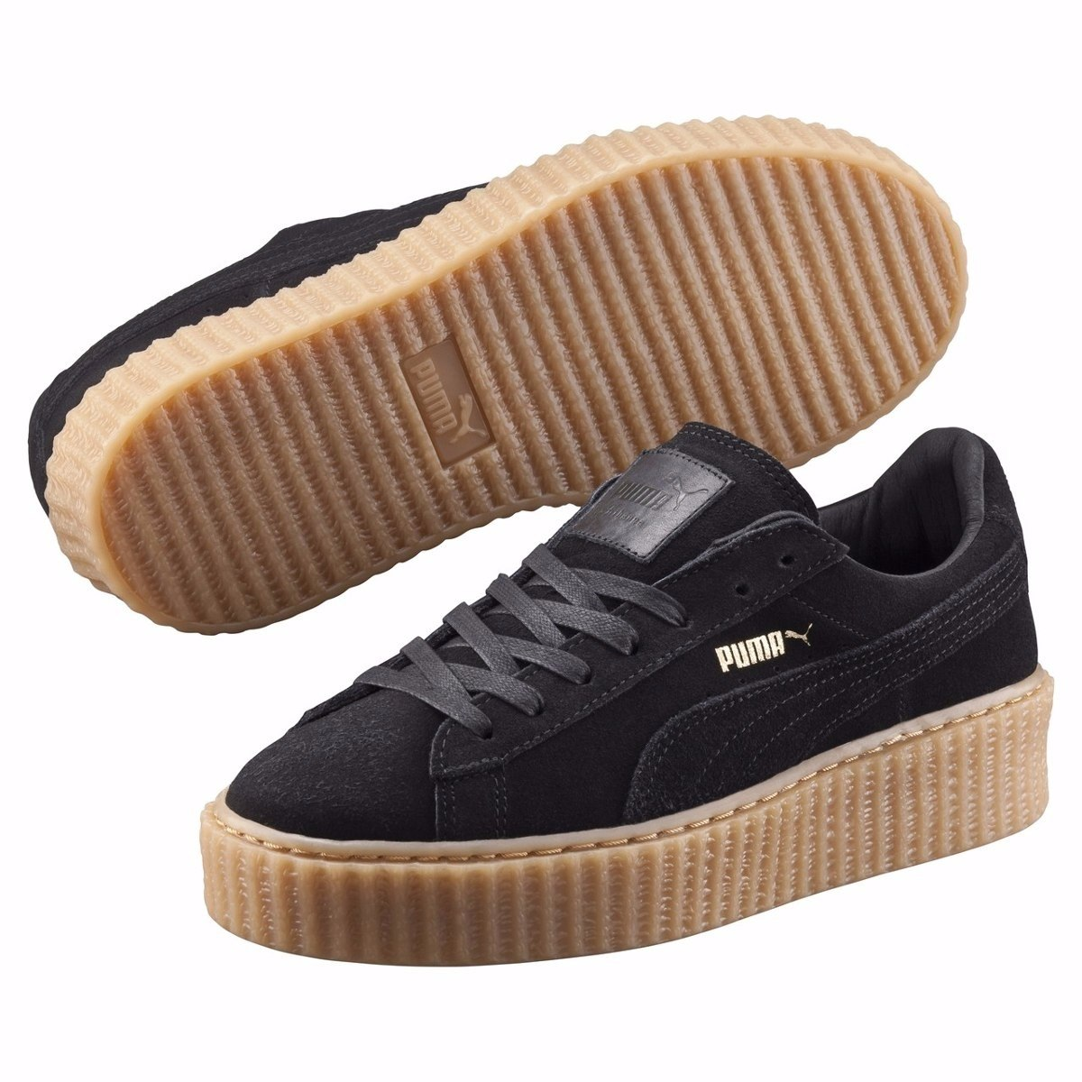 391be885b9 Tênis Puma Suede Creeper By Rihanna Fenty Veludo 14 - LeveShoes