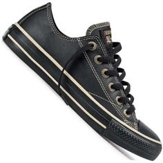 Tênis Converse All star Couro Unissex 10 - Tênis All Star Converse Chuck Taylor