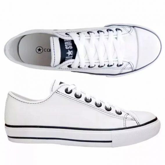 Tênis Converse All star Couro Unissex 568x568 - Tênis All Star Converse Chuck Taylor