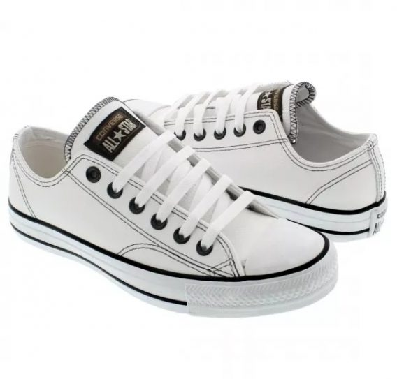 Tênis Converse All star Couro Unissex 8 568x543 - Tênis All Star Converse Chuck Taylor