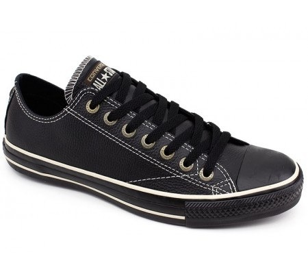 Tênis Converse All star Couro Unissex 9 - Tênis All Star Converse Chuck Taylor