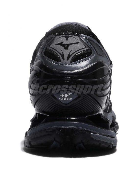 Mizuno Wave Prophecy 7 VII Black Blue Grey Men Running Shoes Sneaker 4 568x725 - Tenis Mizuno Wave Prophecy 7 Masculino