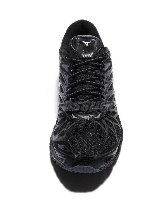 Mizuno Wave Prophecy 7 VII Black Blue Grey Men Running Shoes Sneaker 6 568x725 - Tenis Mizuno Wave Prophecy 7 Masculino