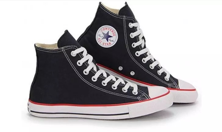 bf8ffc42fc9 Tênis Converse All star Cano Alto - LeveShoes