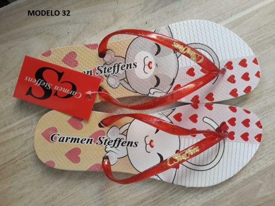 Atacado Chinelo Carmen Steffens 32 568x426 - Atacado Chinelo Carmen Steffens   12 pares  R$15 o par