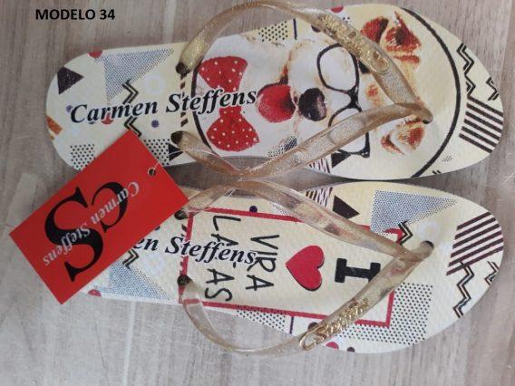 Atacado Chinelo Carmen Steffens 34 568x426 - Atacado Chinelo Carmen Steffens   12 pares  R$15 o par