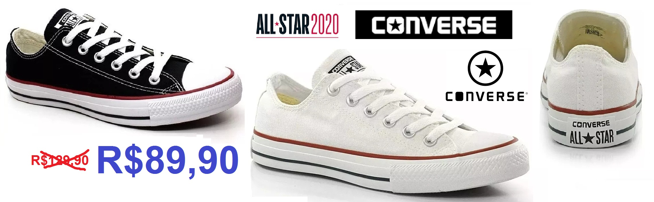 Tênis All Star barato - Loja LeveShoes