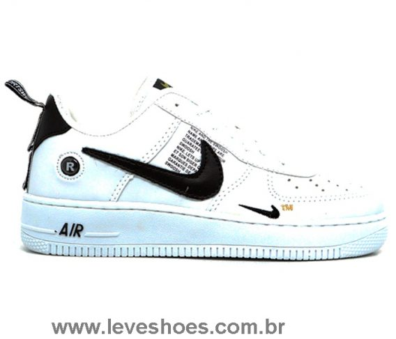 Tênis Nike Air Force 1 TM branco 568x487 - Tênis Nike Air Force