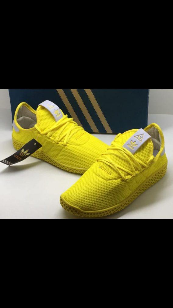 Tênis adidas Pharrell Wlliams Hu Masculino Feminino 18 568x1010 - Atacado Tênis adidas Pharrell Wlliams Hu Masculino Feminino 12 pares R$60 o Par