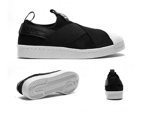 Tênis adidas Superstar Slip On Elástico Lançamento 2 568x445 - Tênis adidas - Superstar Slip On Elástico