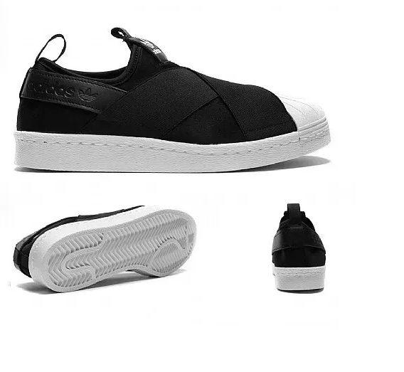 Tênis adidas Superstar Slip On Elástico Lançamento 2 568x523 - Tênis adidas - Superstar Slip On Elástico - Lançamento
