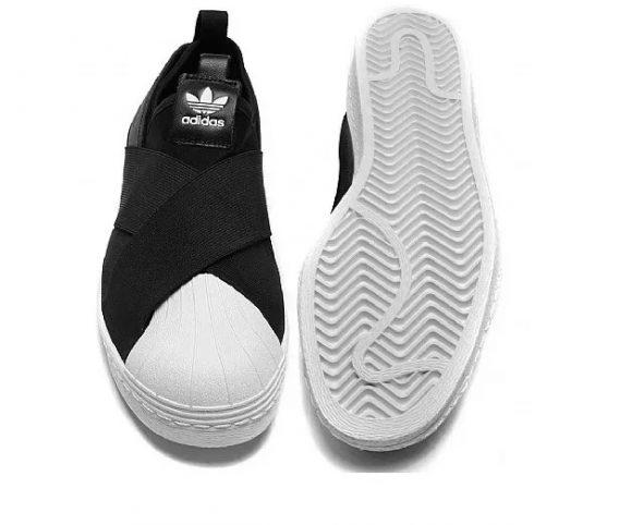 Tênis adidas Superstar Slip On Elástico Lançamento 3 568x482 - Tênis adidas - Superstar Slip On Elástico
