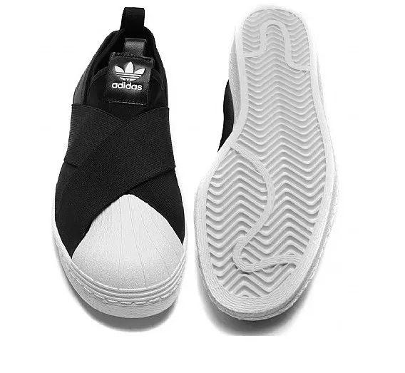 Tênis adidas Superstar Slip On Elástico Lançamento 3 568x523 - Tênis adidas - Superstar Slip On Elástico - Lançamento