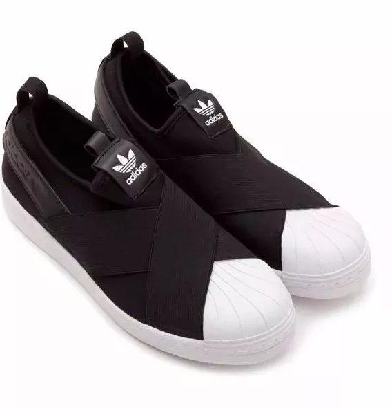 Tênis adidas Superstar Slip On Elástico Lançamento 568x590 - Tênis adidas - Superstar Slip On Elástico - Lançamento