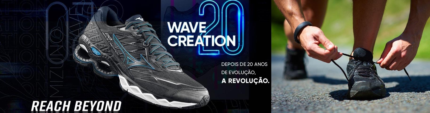 mizuno wave creation 20 - TÊNIS