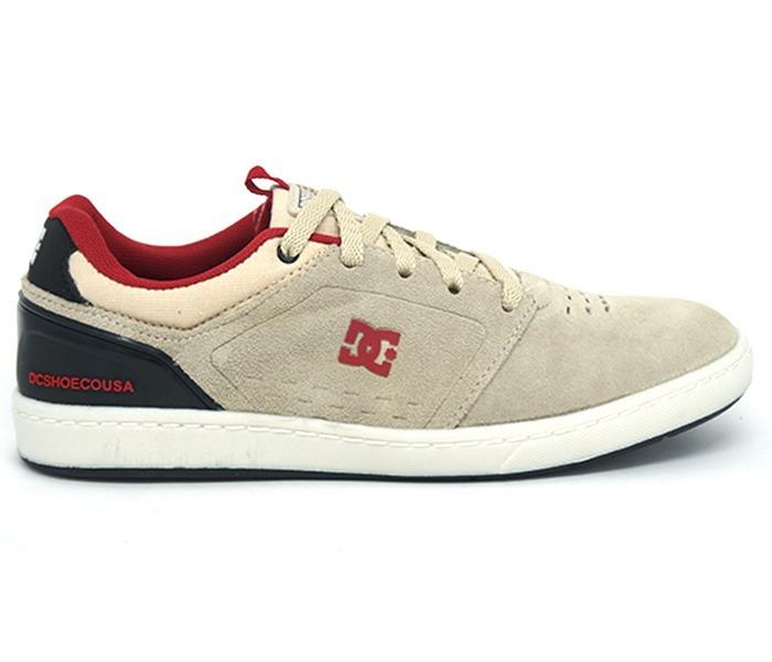3bf22c5e21 Tênis Dc Shoes Cole Signature Masculino Casual bege
