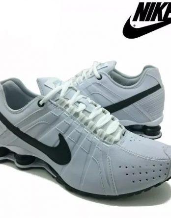 Tênis Nike Shox Júnior 4 Molas Masculino 2 1 348x445 - Tênis Nike Shox Júnior 4 Molas Masculino Branco