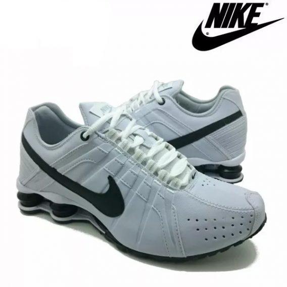 Tênis Nike Shox Júnior 4 Molas Masculino 2 1 568x568 - Tênis Nike Shox Júnior 4 Molas Masculino Branco
