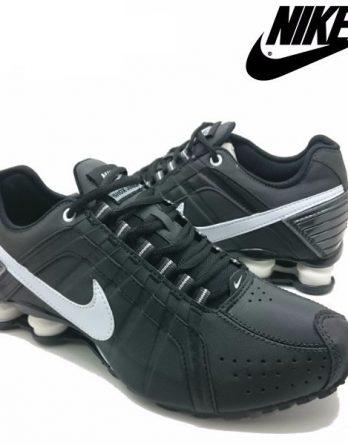Tênis Nike Shox Júnior 4 Molas Masculino 2 348x445 - Tênis Nike Shox Júnior 4 Molas Masculino Preto