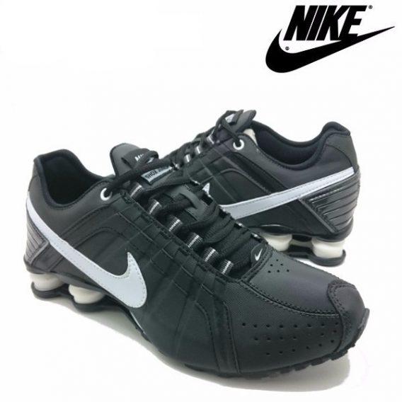 ed2ab74e688 Tênis Nike Shox Júnior 4 Molas Masculino Preto - LeveShoes