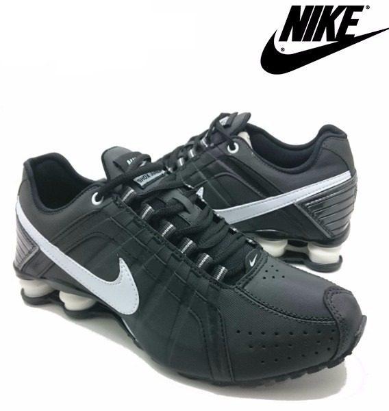 Tênis Nike Shox Júnior 4 Molas Masculino 2 568x600 - Tênis Nike Shox Júnior 4 Molas Masculino Preto