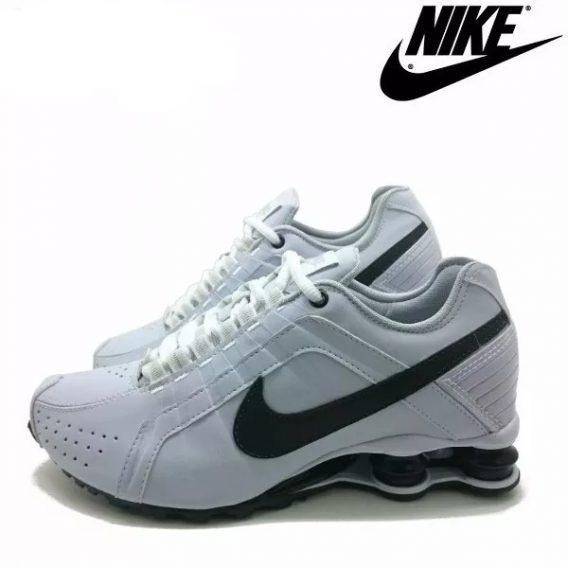 Tênis Nike Shox Júnior 4 Molas Masculino 3 1 568x568 - Tênis Nike Shox Júnior 4 Molas Masculino Branco