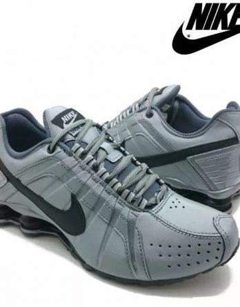 Tênis Nike Shox Júnior 4 Molas Masculino 3 2 348x445 - Tênis Nike Shox Júnior 4 Molas Masculino Cinza
