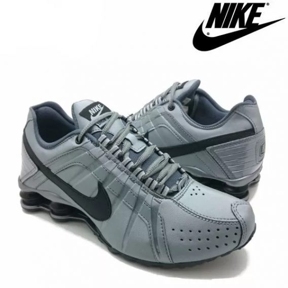 Tênis Nike Shox Júnior 4 Molas Masculino 3 2 568x568 - Tênis Nike Shox Júnior 4 Molas Masculino Cinza