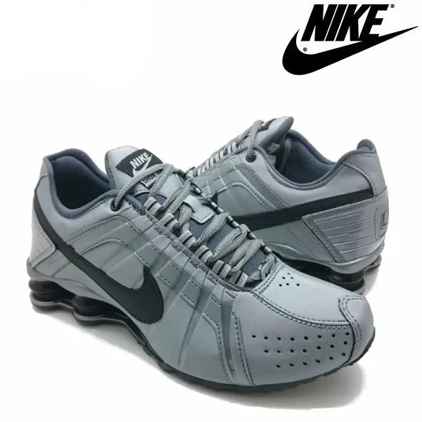 sleek best choice the latest Tênis Nike Shox Júnior 4 Molas Masculino Cinza
