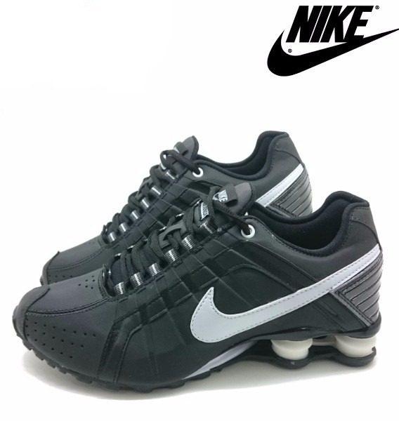 Tênis Nike Shox Júnior 4 Molas Masculino 3 568x600 - Tênis Nike Shox Júnior 4 Molas Masculino Preto
