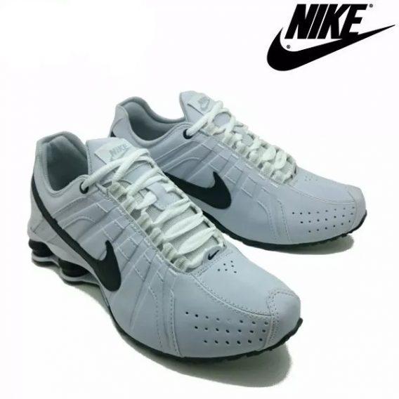 Tênis Nike Shox Júnior 4 Molas Masculino 4 1 568x568 - Tênis Nike Shox Júnior 4 Molas Masculino Branco