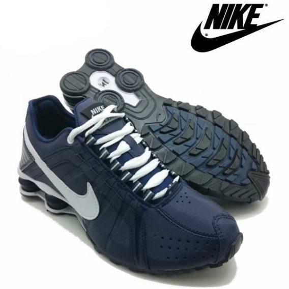 Tênis Nike Shox Júnior 4 Molas Masculino 4 3 568x568 - Tênis Nike Shox Júnior 4 Molas Azul