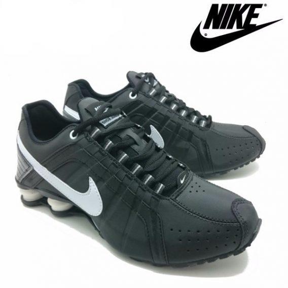 Tênis Nike Shox Júnior 4 Molas Masculino 4 568x568 - Tênis Nike Shox Júnior 4 Molas Masculino Preto