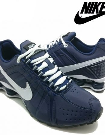 Tênis Nike Shox Júnior 4 Molas Masculino 5 348x445 - Tênis Nike Shox Júnior 4 Molas Azul