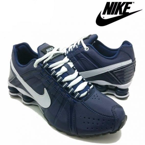 Tênis Nike Shox Júnior 4 Molas Masculino 5 568x568 - Tênis Nike Shox Júnior 4 Molas Azul