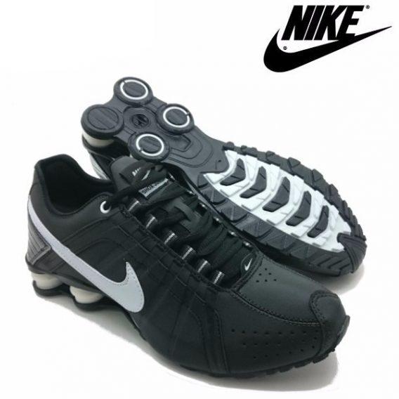 Tênis Nike Shox Júnior 4 Molas Masculino 568x568 - Tênis Nike Shox Júnior 4 Molas Masculino Preto