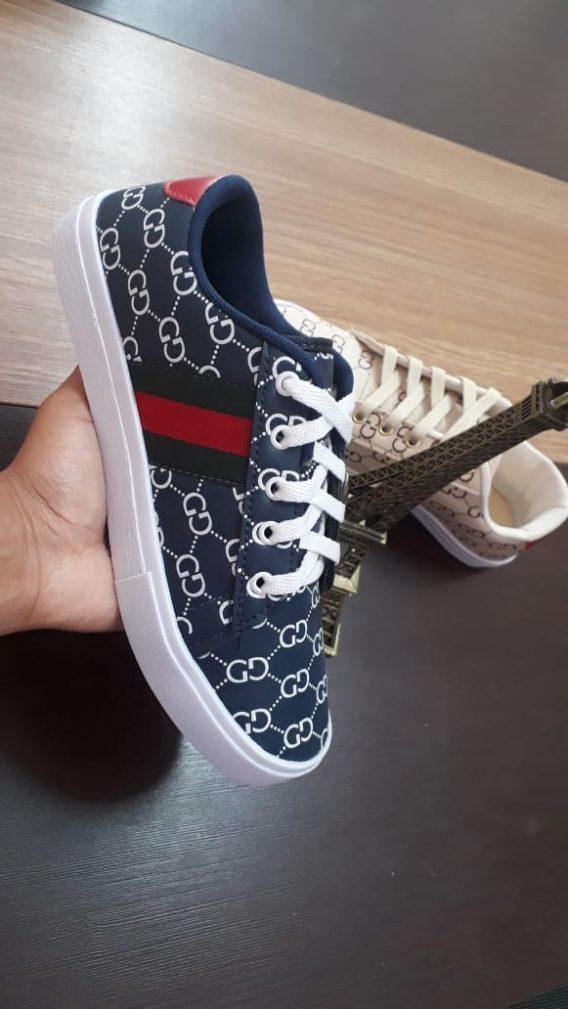 2 Adidas Gucci Ténis Sapatilha 568x1009 - Sapatilha Feminino Gucci