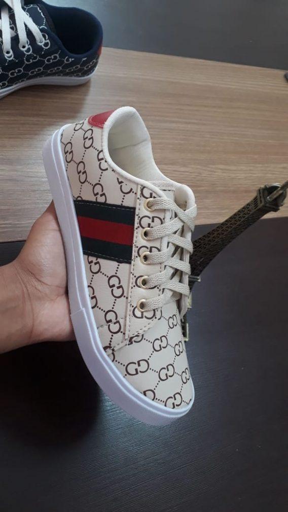 4 Adidas Gucci Ténis Sapatilha 568x1009 - Sapatilha Feminino Gucci
