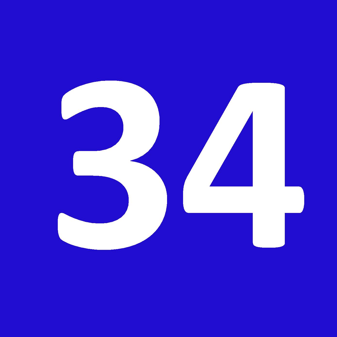 Tamanho 34