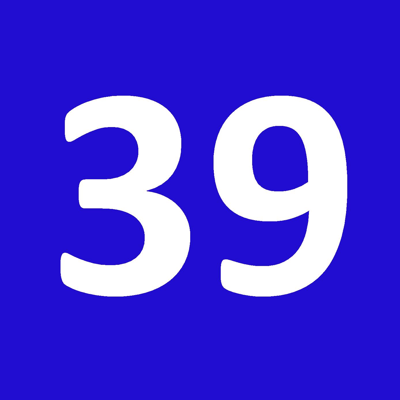 Tamanho 39