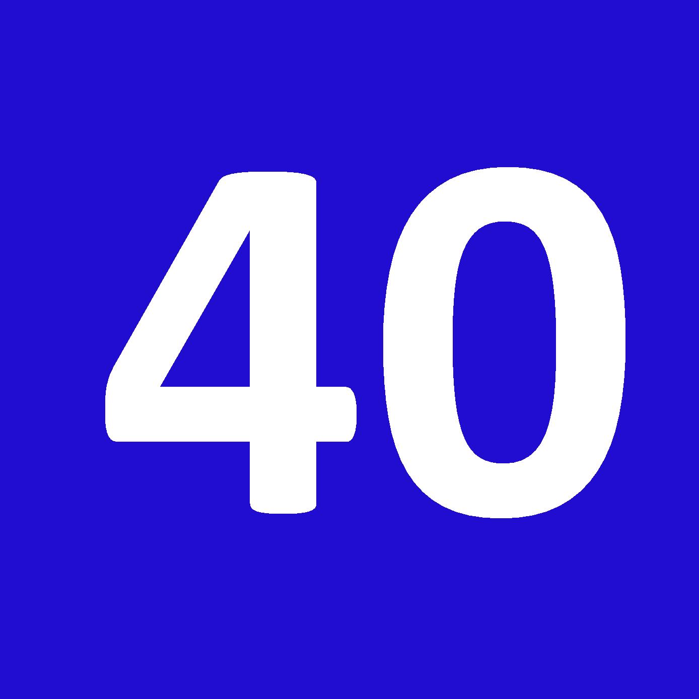 Tamanho 40