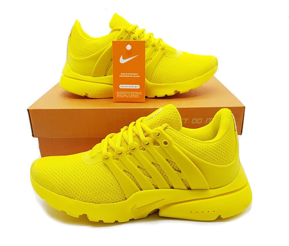 Mantenimiento nitrógeno Sistemáticamente  Tênis Nike Presto Amarelo - Tênis LeveShoes