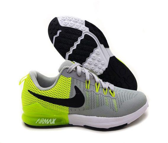 nike air max Cinza verde1 568x483 - Tênis Nike Air Max 2019