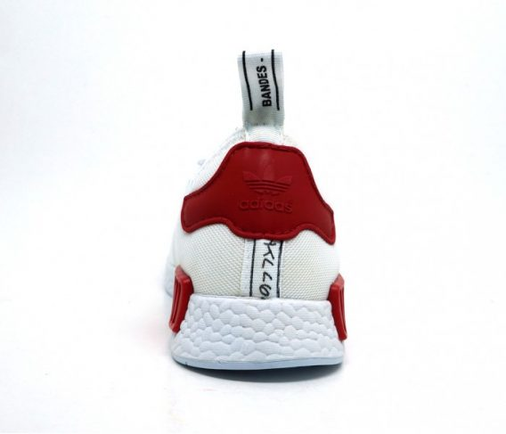 Tênis Masculino Adidas NMD Ferrari Branco - Tênis LeveShoes