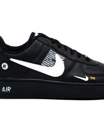 Tênis Nike Air Force 1 TM 348x445 - Tênis Nike Air Force 1 TM Masculino Feminino Preto
