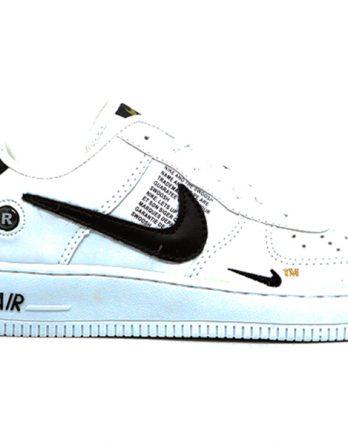 Tênis Nike Air Force 1 TM branco 348x445 - Tênis Nike Air Force 1 TM Masculino Feminino Branco