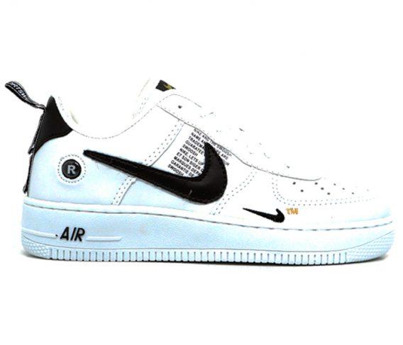Tênis Nike Air Force 1 TM branco 568x487 - Tênis Nike Air Force 1 TM Masculino Feminino Branco