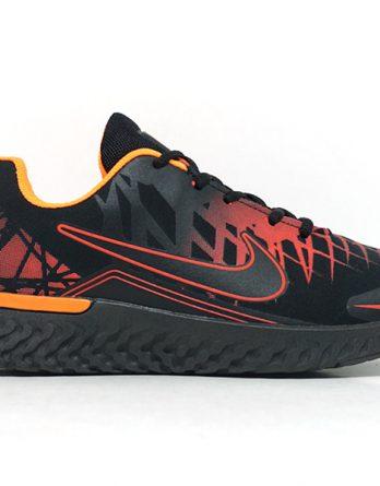 Tênis Nike Air Turno Masculino Preto e Laranja